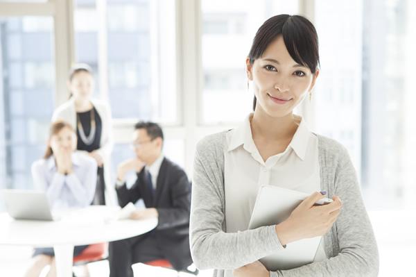 女性も活躍できる会社で